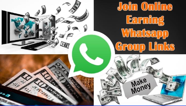 Earn Money Group Link Join - Free Earn Whatsapp Invite Links